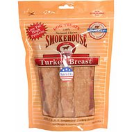 Smokehouse USA Turkey Breast Dog Treats, 6-oz bag