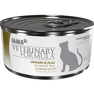 Iams Veterinary Formula Urinary-O Plus Moderate pH/O Canned Cat Food, 6-oz, case of 12