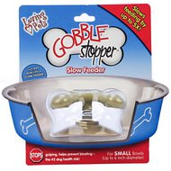 Loving Pets Gobble Stopper Slow Pet Bowl, up to 6 in