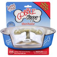 Loving Pets Gobble Stopper Slow Pet Bowl, 6 to 8 inch