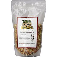 Dr. Harvey's Veg-To-Bowl Grain-Free Cat Food Pre-Mix, 1-lb bag, makes 60-oz of food