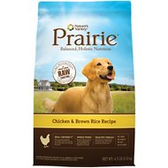 Nature's Variety Prairie Chicken & Brown Rice Recipe Dry Dog Food, 4.5-lb bag