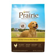 Nature's Variety Prairie Chicken & Brown Rice Recipe Dry Dog Food, 27-lb bag