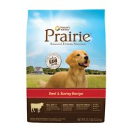 Nature's Variety Prairie Beef & Barley Recipe Dry Dog Food, 27-lb bag