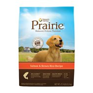 Nature's Variety Prairie Salmon & Brown Rice Recipe Dry Dog Food, 27-lb bag