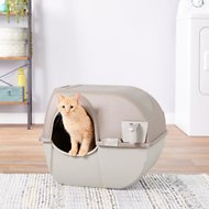 Omega Paw Roll'N Clean Cat Litter box, Large