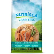 Nutrisca Grain-Free Salmon & Chickpea Recipe Dry Dog Food, 4-lb bag
