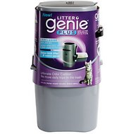 Litter Genie Plus Cat Litter Disposal System, Silver