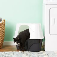 Nature's Miracle JFC Advanced Hooded Corner Cat Litter Box
