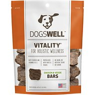 Dogswell Vitality Bars Chicken & Veggies Dog Treats, 5-oz bag
