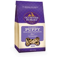 Old Mother Hubbard Classic Puppy Biscuits Mini Baked Dog Treats, 5-oz bag