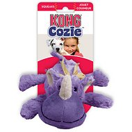 KONG Cozie Rosie the Rhino Dog Toy, Medium