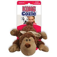 KONG Cozie Spunky the Monkey Dog Toy, Medium