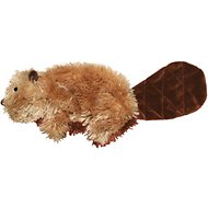 KONG Plush Beaver Dog Toy, Small