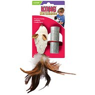 KONG Refillable Feather Mouse Catnip Cat Toy
