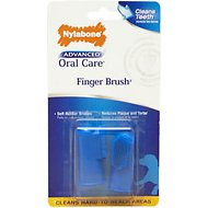 Nylabone Advanced Oral Care Dog Finger Brush, 2-pack