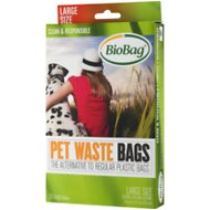 BioBag Large Pet Waste Bags, 35 count, case of 12
