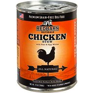 Redbarn Naturals Chicken Stew Grain-Free Canned Dog Food, 13-oz, case of 12
