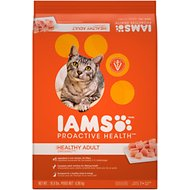 Iams ProActive Health Healthy Adult Original with Chicken Dry Cat Food, 10.8-lb bag