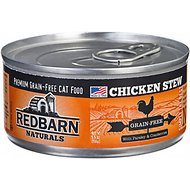 Redbarn Naturals Chicken Stew Grain-Free Canned Cat Food, 5.5-oz, case of 24