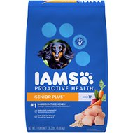 Iams Proactive Health Senior Plus Dry Dog Food, 26.2-lb bag