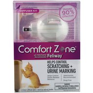 Comfort Zone with Feliway Cat Diffuser, 48-ml