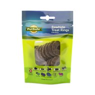 Busy Buddy Natural Rawhide Rings Dog Treats, Size A
