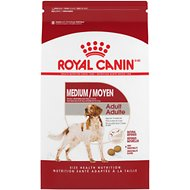 Royal Canin Medium Adult Dry Dog Food, 30-lb bag