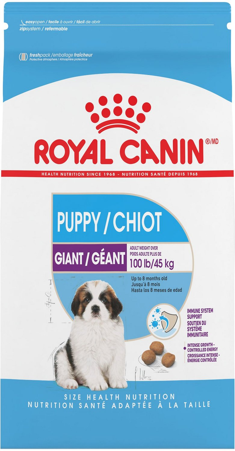 Royal Canin Giant Puppy Dry Dog Food 6 Lb Bag Chewy Com