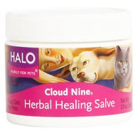 Halo Cloud 9 Herbal Healing Salve for Dogs & Cats, 2-oz jar