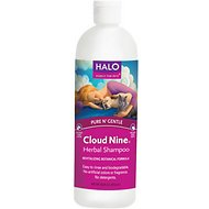 Halo Cloud 9 Herbal Dog & Cat Shampoo, 16-oz bottle