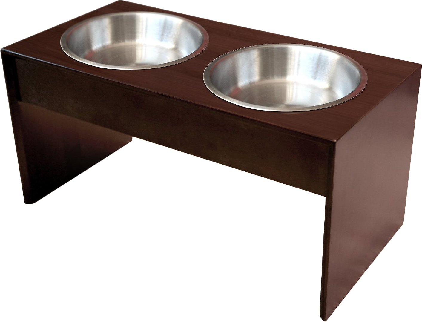 raised stainless com dogs dp dog double small cats perfect bowls and two with feeder amazon for cat bowl steel premium comes stand elevated extra pet