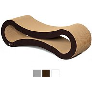 PetFusion Ultimate  Cat Scratcher Lounge, Walnut Brown