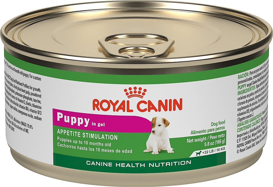 royal canin puppy appetite stimulation canned dog food 5 8 oz case of 24. Black Bedroom Furniture Sets. Home Design Ideas