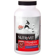 Nutri-Vet Hip & Joint Advanced Strength Dog Chewables, 150 count