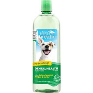 TropiClean Fresh Breath Water Additive For Dogs, 33.8-oz bottle