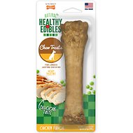 Nylabone Healthy Edibles Longer Lasting Chicken Flavor Dog Bone Treat, X-Large