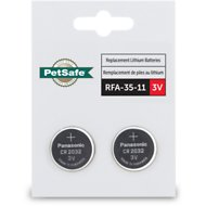 PetSafe 3-Volt RFA-35-11 Lithium Coin Cell Replacement Batteries, 2 pack
