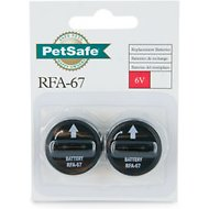 PetSafe 6-Volt RFA-67D Replacement Batteries (2-Pack)