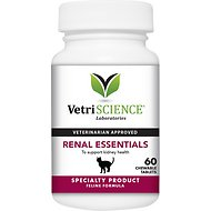 VetriScience Renal Essentials Cat Tablets, 60 count