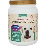 NaturVet ArthriSoothe-GOLD Hip & Joint Stage 3 Advanced Formula Dog & Cat Tablets, 240 count