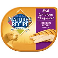 Nature's Recipe Chicken Recipe in Broth Wet Dog Food, 2.75-oz, case of 24