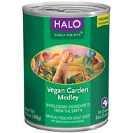 Halo Vegan Garden Medley Canned Dog Food, 13-oz, case of 12