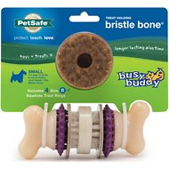 Busy Buddy Bristle Bone Dog Toy, Small