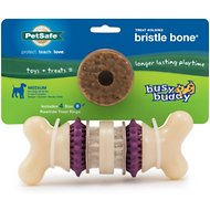Busy Buddy Bristle Bone Dog Toy, Medium