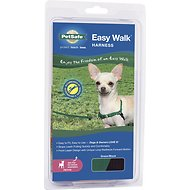 PetSafe Easy Walk Dog Harness, Green/Black, Petite