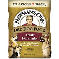 Newman's Own Organics Adult Formula Dry Dog Food, 12.5-lb bag