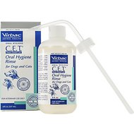 Virbac C.E.T. Oral Hygiene Rinse for Dogs & Cats, 8-oz bottle