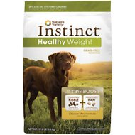 Nature's Variety Instinct Grain-Free Healthy Weight Chicken Meal Formula Dry Dog Food, 21.8-lb bag