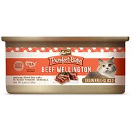 Merrick Purrfect Bistro Grain-Free Beef Wellington Morsels in Gravy Canned Cat Food, 5.5-oz, case of 24